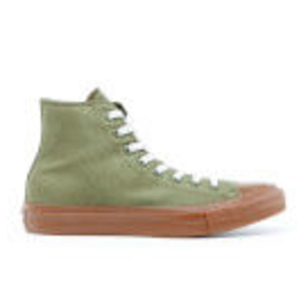 Converse Men's Chuck Taylor All Star II Hi-Top Trainers - Herbal/Gum - UK 9