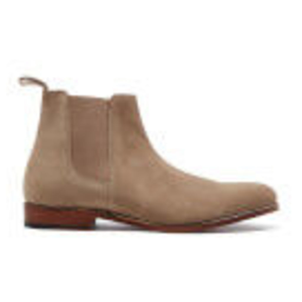 Grenson Men's Declan Suede Chelsea Boots - Cloud - UK 11