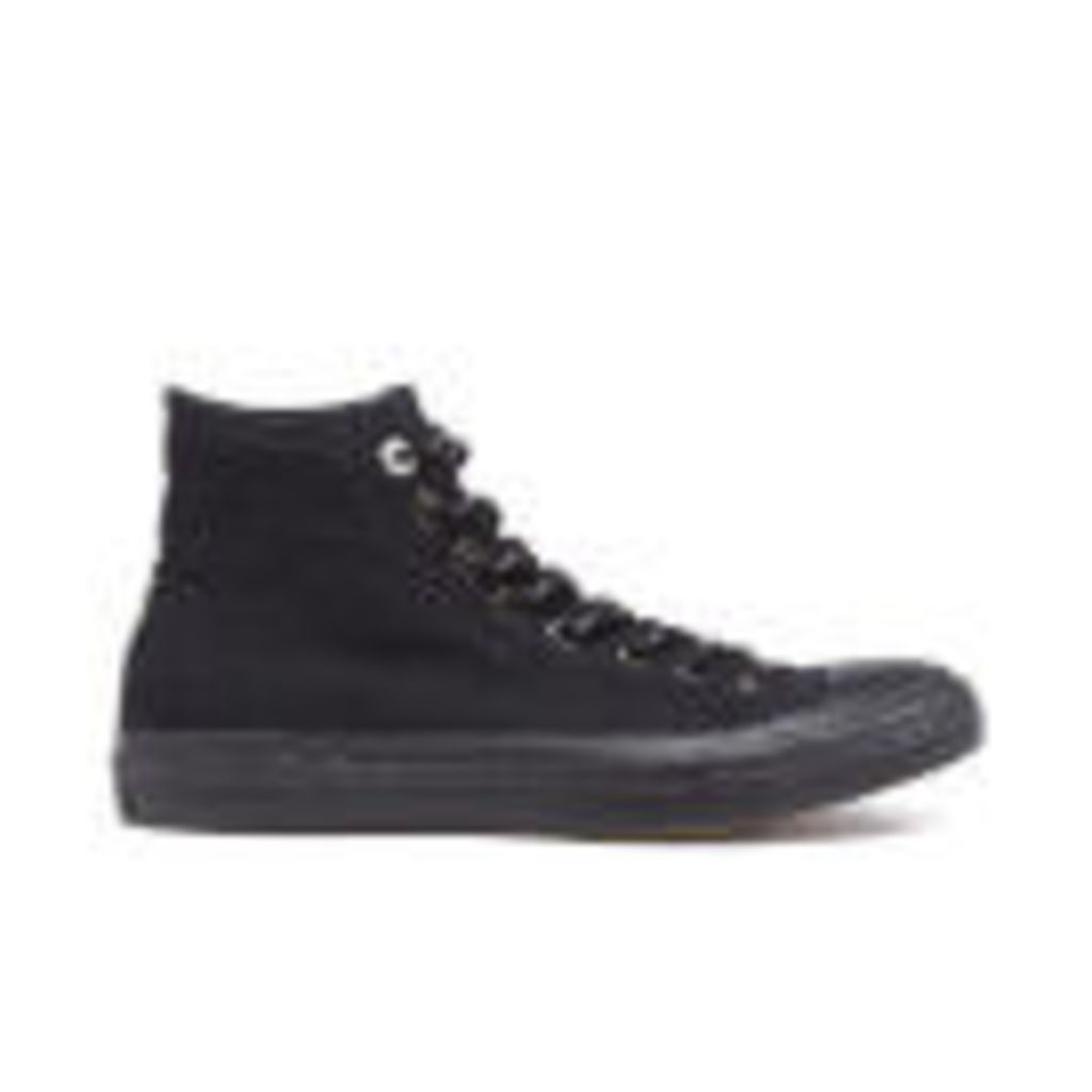 Converse Men's Chuck Taylor All Star II Shield Canvas Hi-Top Trainers - Black/Gum