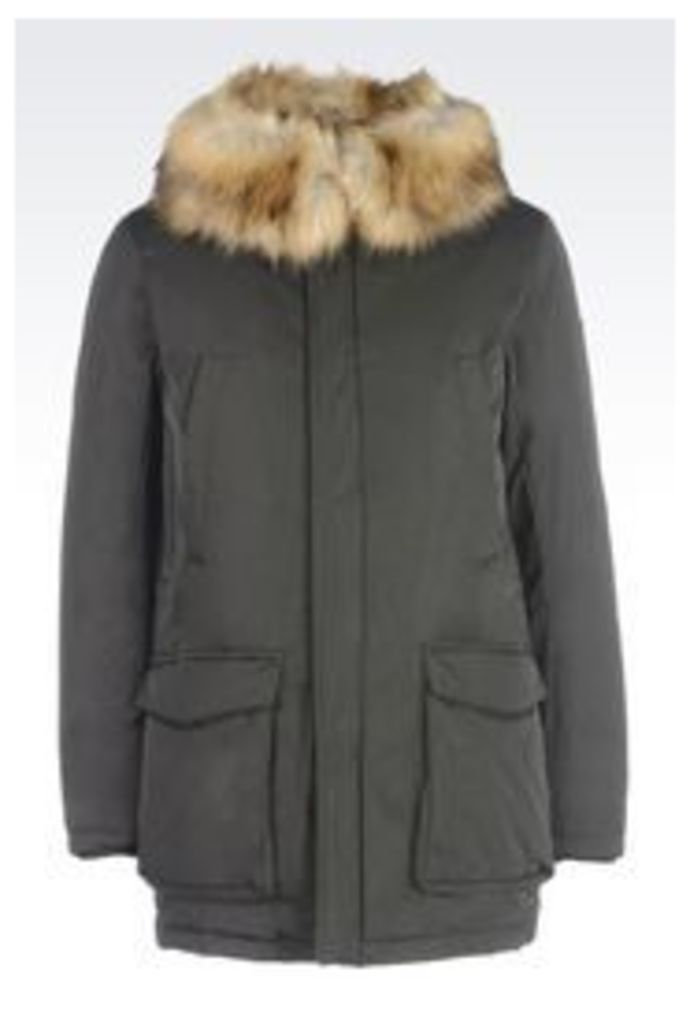 OFFICIAL STORE ARMANI JEANS WATER REPELLENT DOWN JACKET