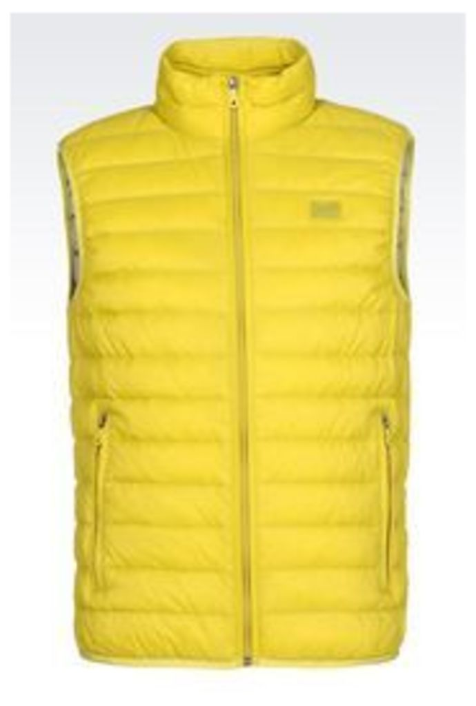 OFFICIAL STORE ARMANI JEANS Padded gilet