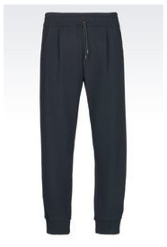 OFFICIAL STORE EMPORIO ARMANI RUNWAY KNIT TROUSERS