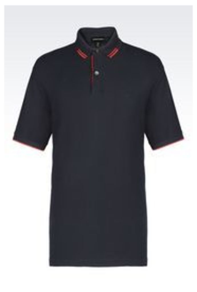 OFFICIAL STORE EMPORIO ARMANI Short-sleeved polo shirt