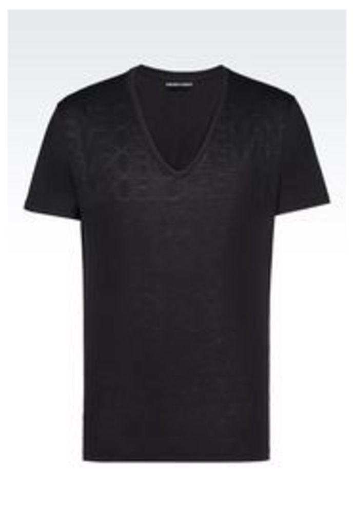 OFFICIAL STORE EMPORIO ARMANI JERSEY T-SHIRT