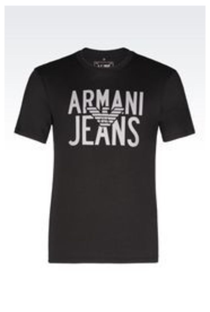 OFFICIAL STORE ARMANI JEANS JERSEY T-SHIRT