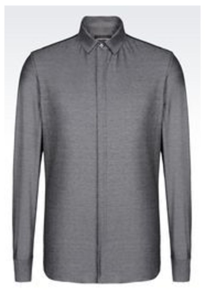 OFFICIAL STORE EMPORIO ARMANI SLIM FIT JERSEY SHIRT