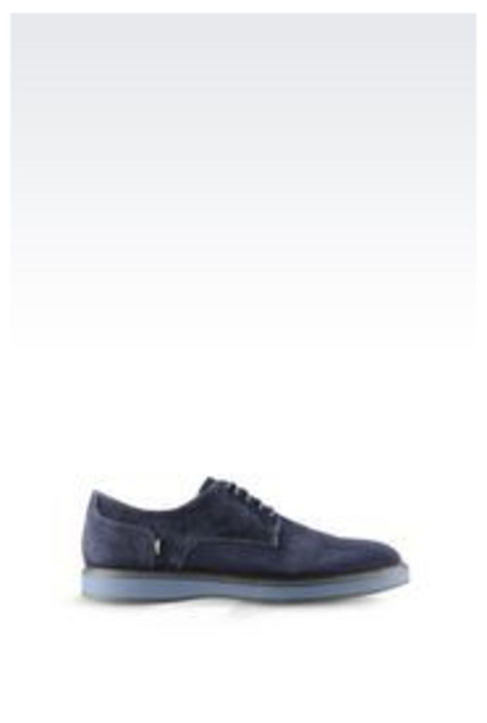OFFICIAL STORE ARMANI JEANS SUEDE DERBY