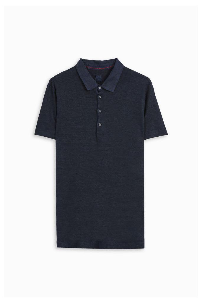 120% Lino Men`s Cruise Polo Shirt Boutique1