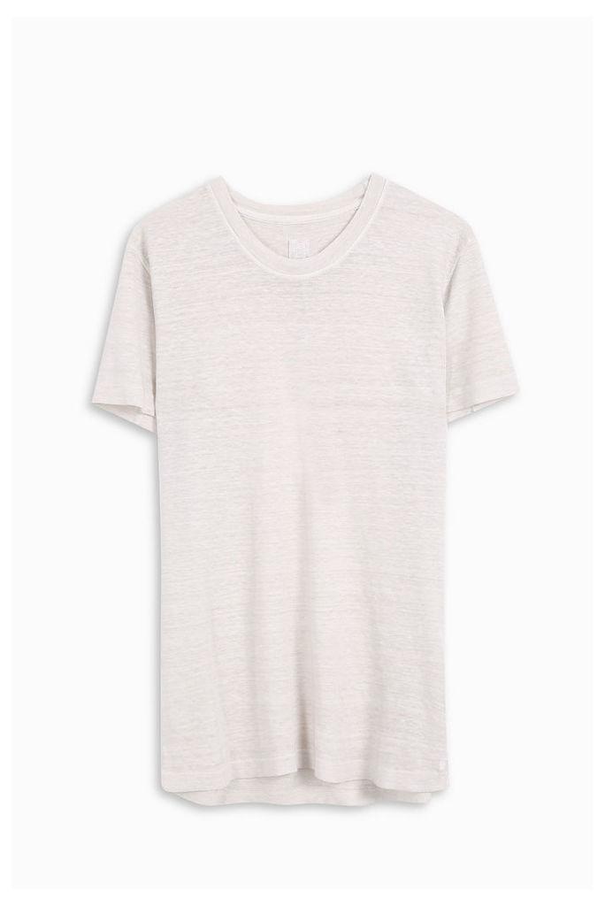 120% Lino Men`s Crew Neck T-shirt Boutique1
