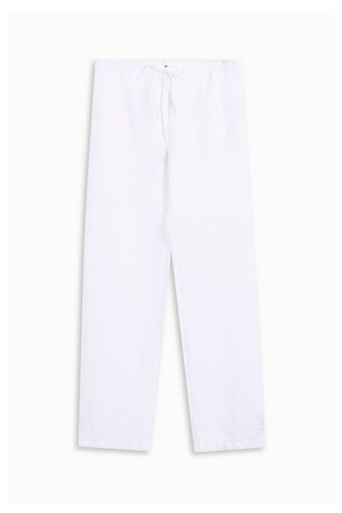 120% Lino Men`s Draw String Loose Trousers Boutique1