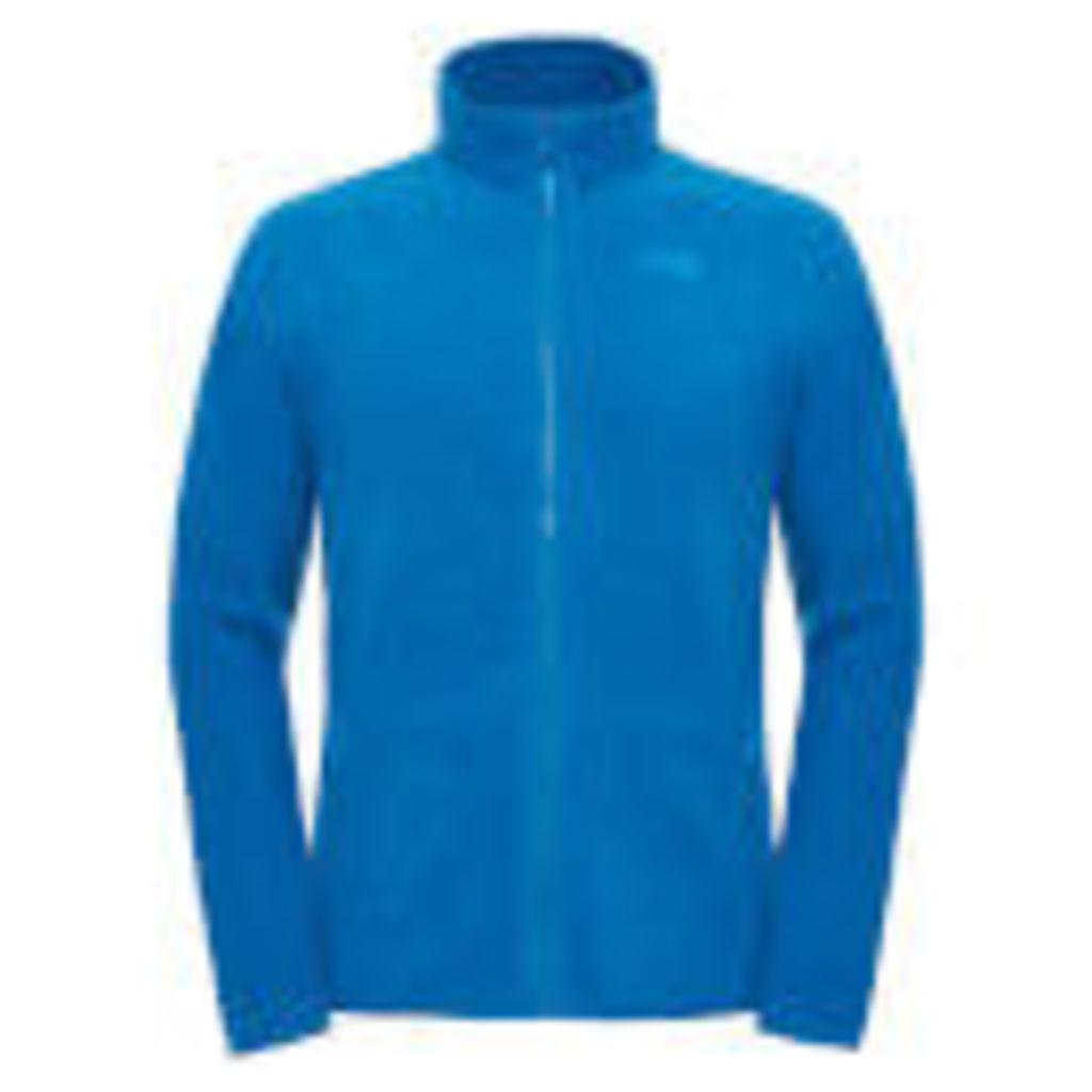 The North Face Men's 100 Glacier Full Zip Fleece - Banoff Blue