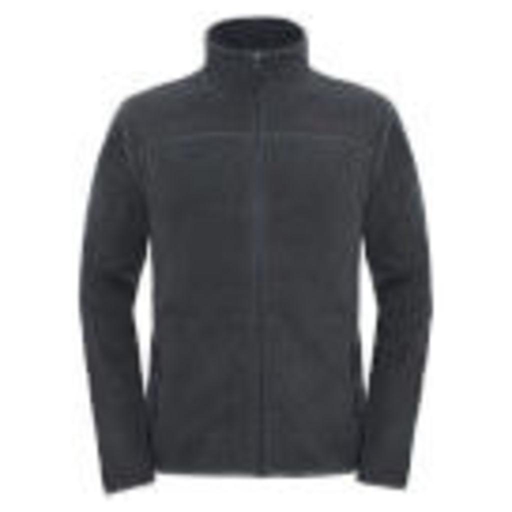 The North Face Men's 100 Glacier Full Zip Fleece - Fuse Box Grey