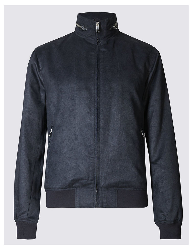 M&S Collection Mock Bomber Jacket