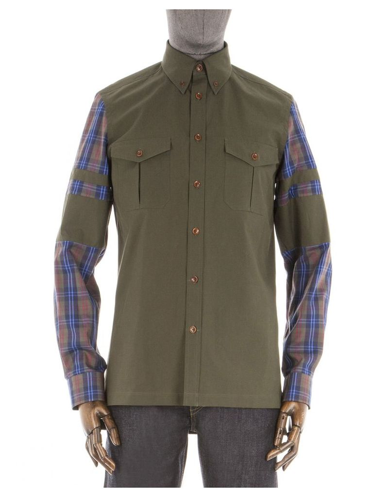The Ventile Army Shirt Med Olive
