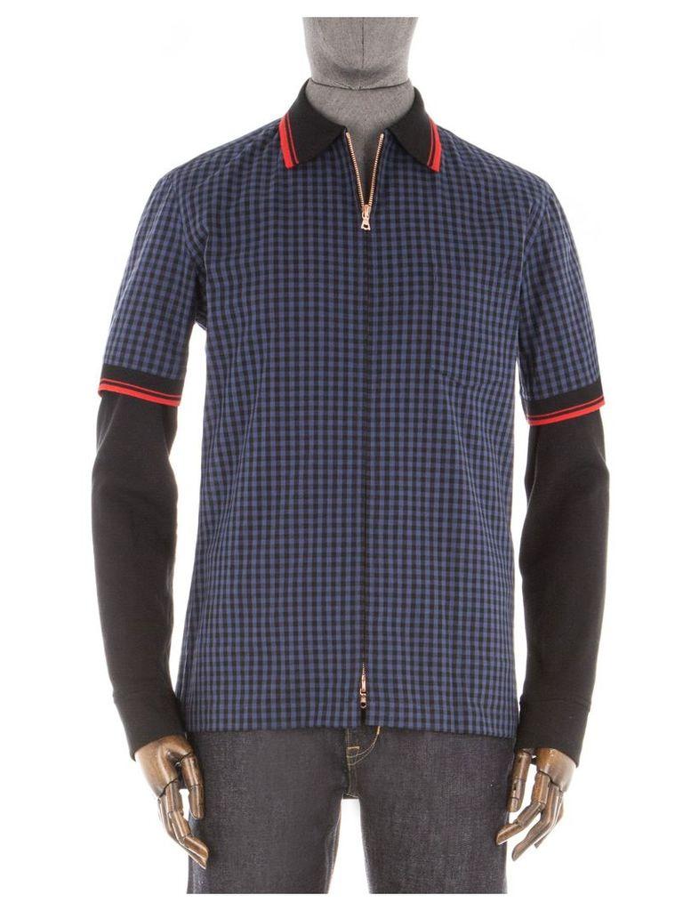 The Modern Overshirt Med Blue