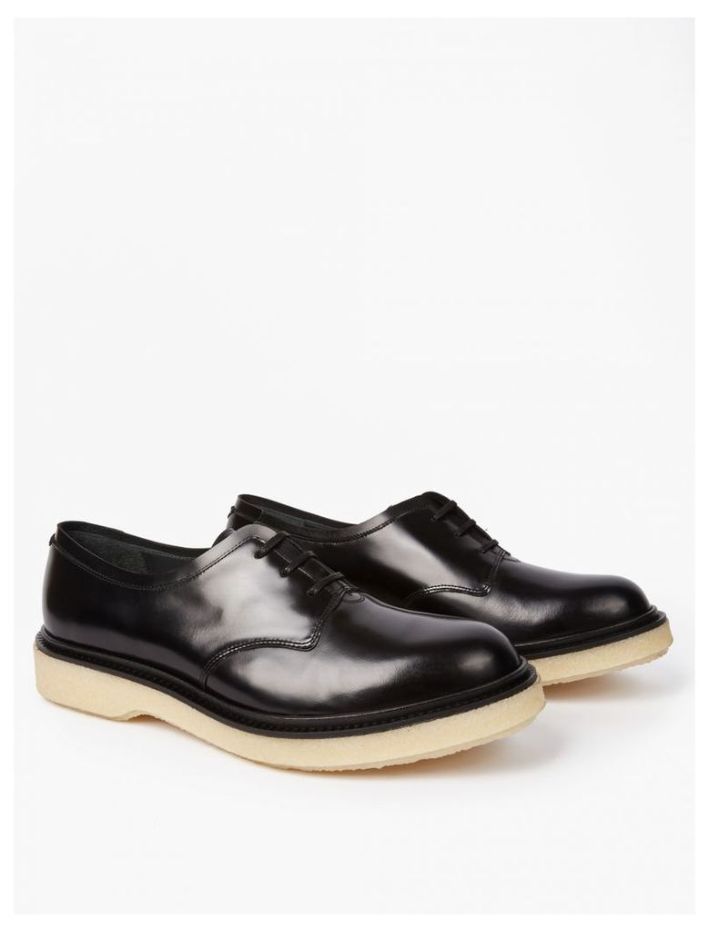 Black Type 86 Leather Derby Shoes