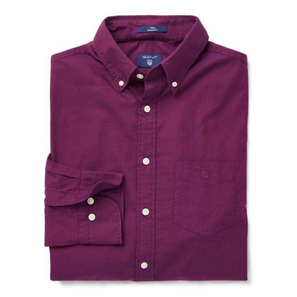 Weekend Twill Shirt - Amethyst