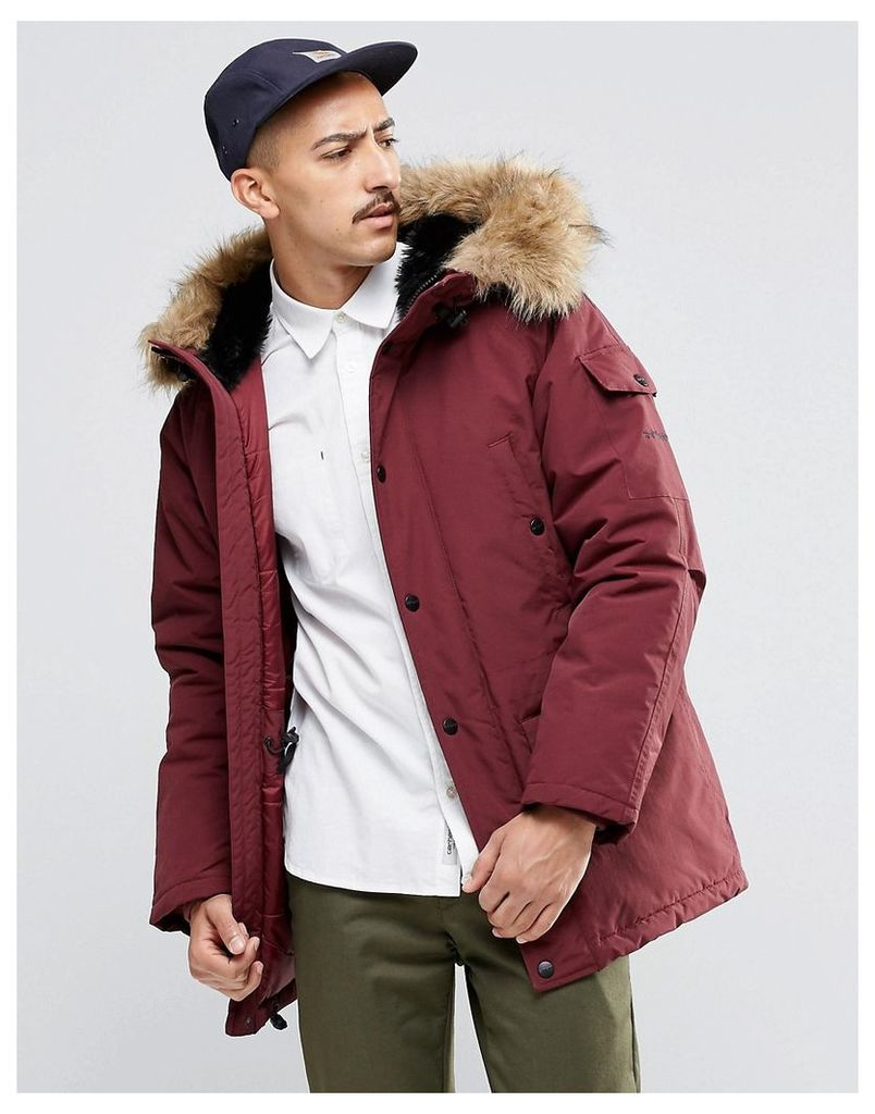 Carhartt WIP Anchorage Parka - Burgundy