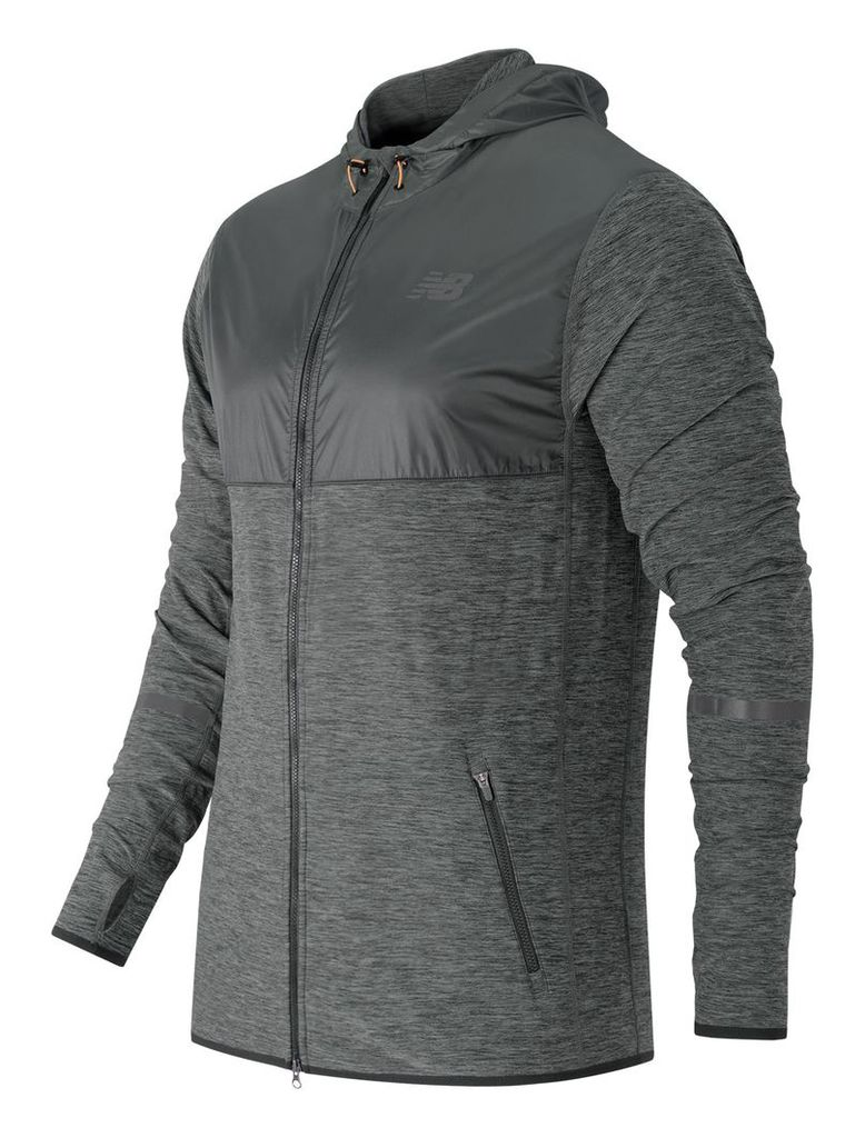 New Balance N Transit Hoodie Men's Performance MJ61030HC