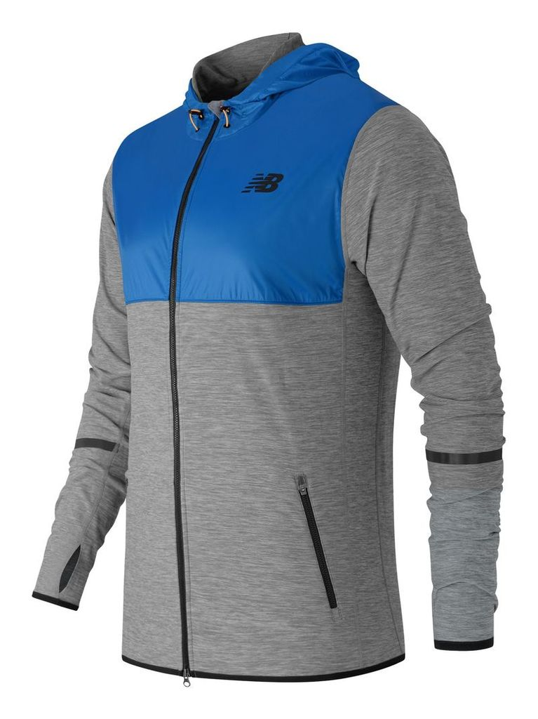 New Balance N Transit Hoodie Men's Performance MJ61030HGM