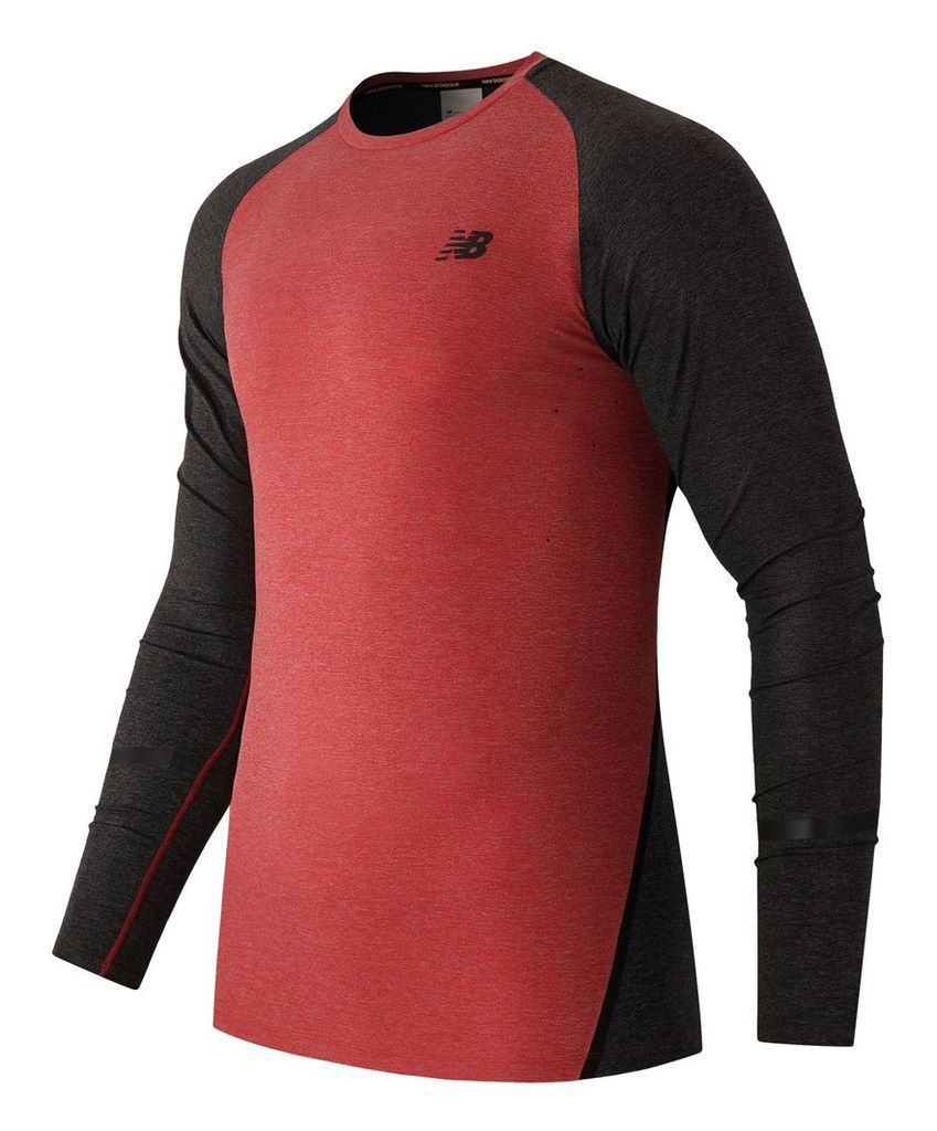 New Balance Trinamic Long Sleeve Top Men's Performance MT61020CHH