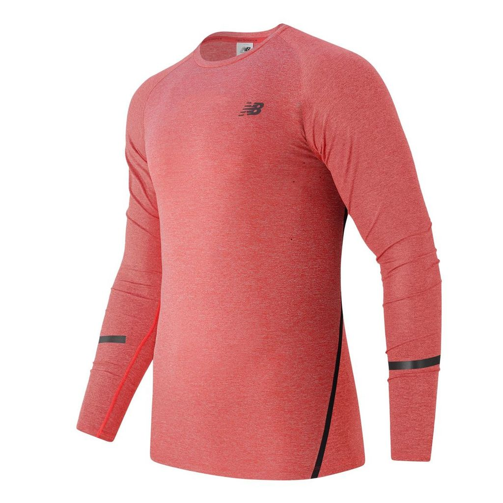 New Balance Trinamic Long Sleeve Top Men's Performance MT61020AMH