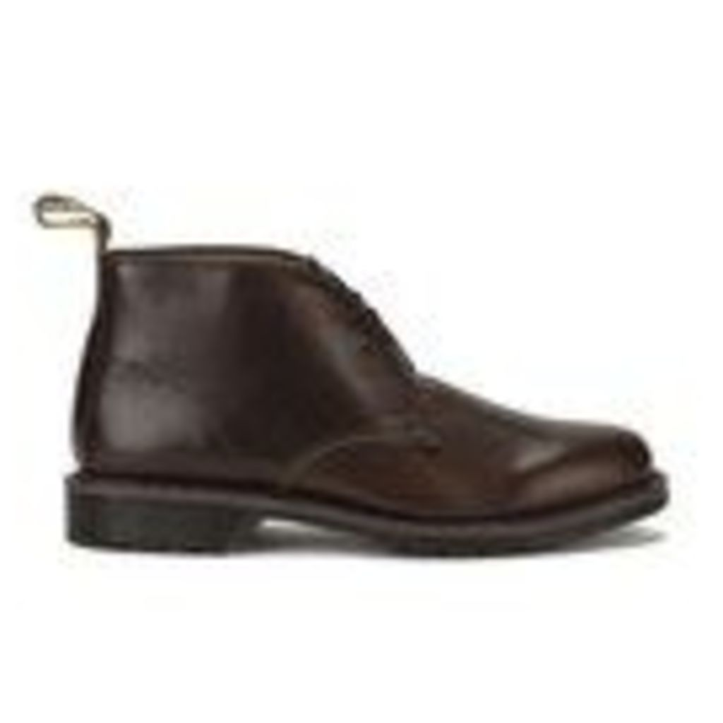Dr. Martens Men's Oscar Sawyer New Nova Leather Desert Boots - Dark Brown - UK 6