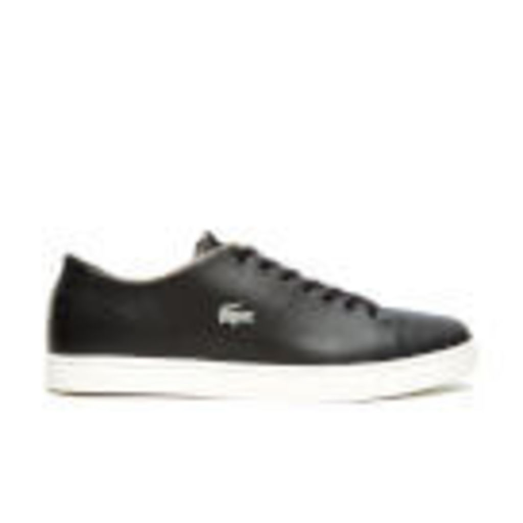 Lacoste Men's Showcourt SRM Trainers - Black - UK 10