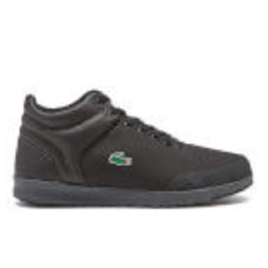 Lacoste Men's Tarru-Light 416 1 Hi-Top Trainers - Black - UK 10