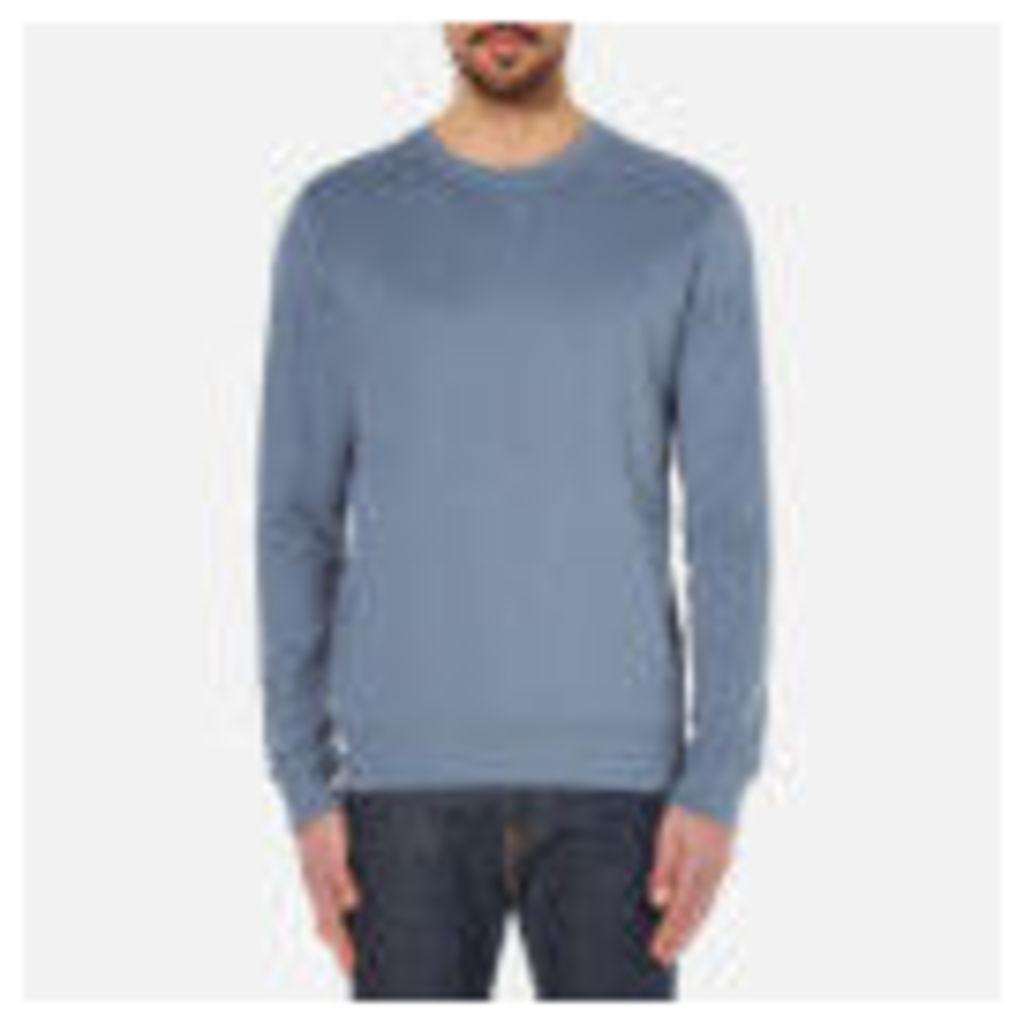 Selected Homme Men's Boris Crew Neck Sweatshirt - Blue Mirage