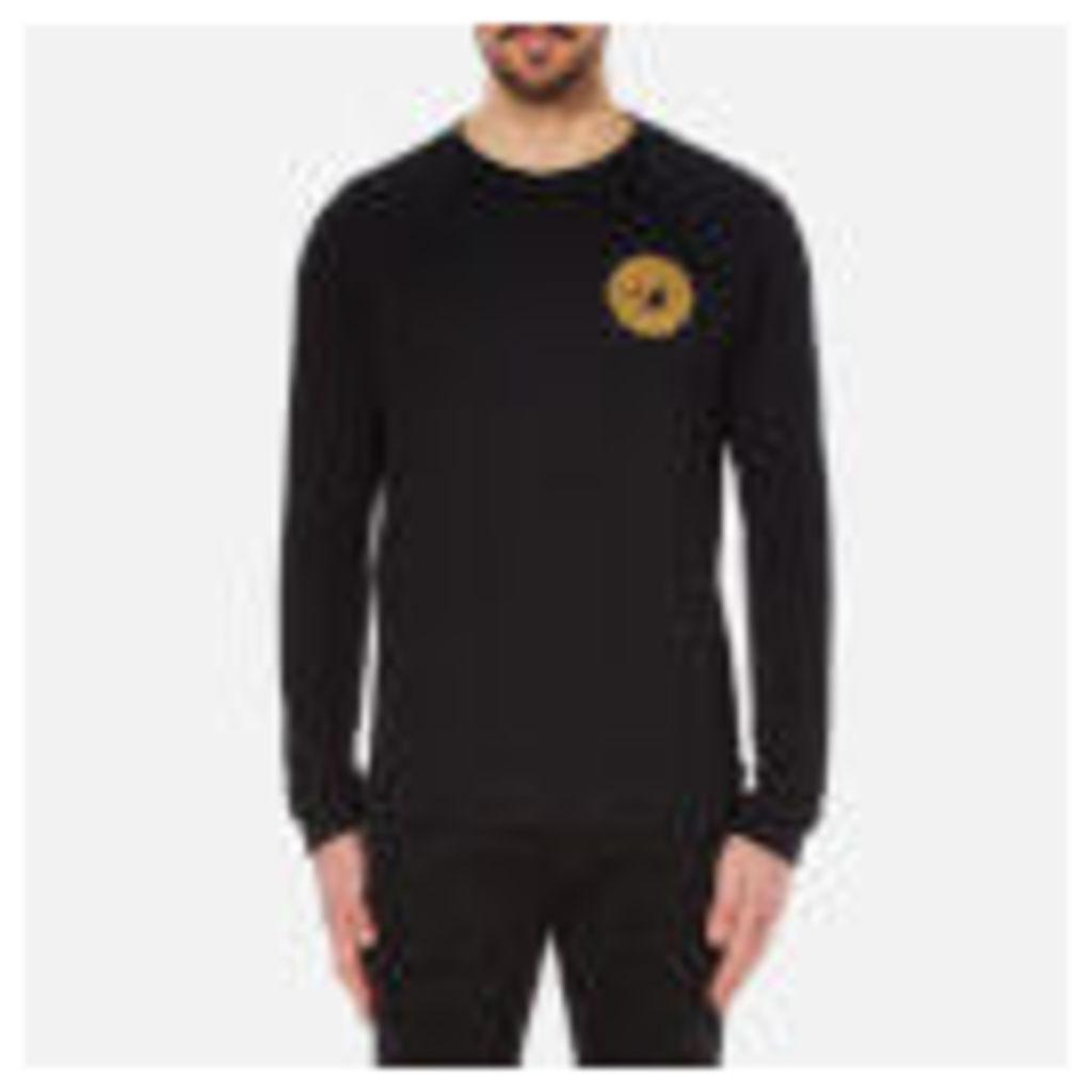 Versace Collection Men's Medusa Badge Sweatshirt - Black