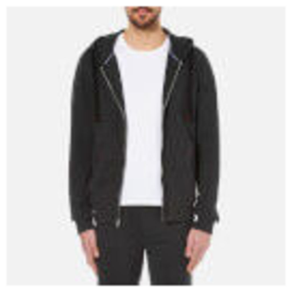 Tommy Hilfiger Men's Icon Zip Through Hoody - Charcoal Grey