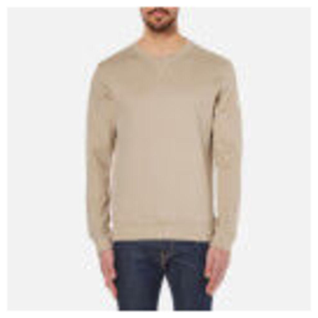 Selected Homme Men's Boris Crew Neck Sweatshirt - Crockery