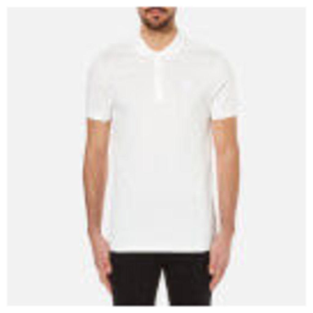 Versace Collection Men's Pique Polo Shirt - White