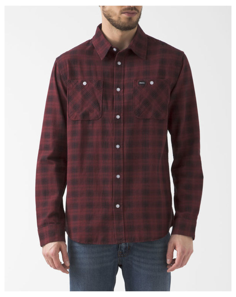 Red and Blue Checked Trample Shirt