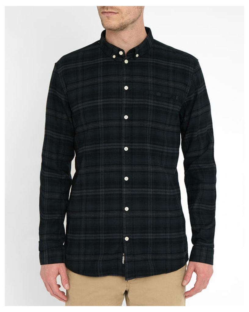 Grey Checked Canarsie Shirt