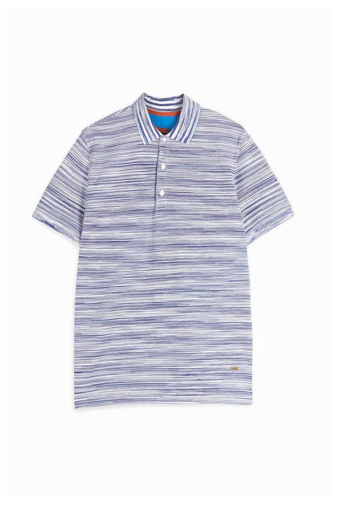 Missoni Men`s Classic Space-dye Polo Shirt Boutique1