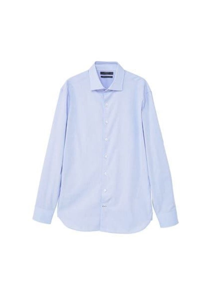 Slim-fit Tailored textured shirt