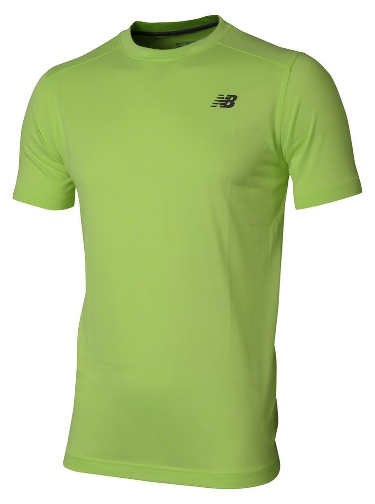 New Balance SS Heather Tech Tee Men's Performance MT53091TXH