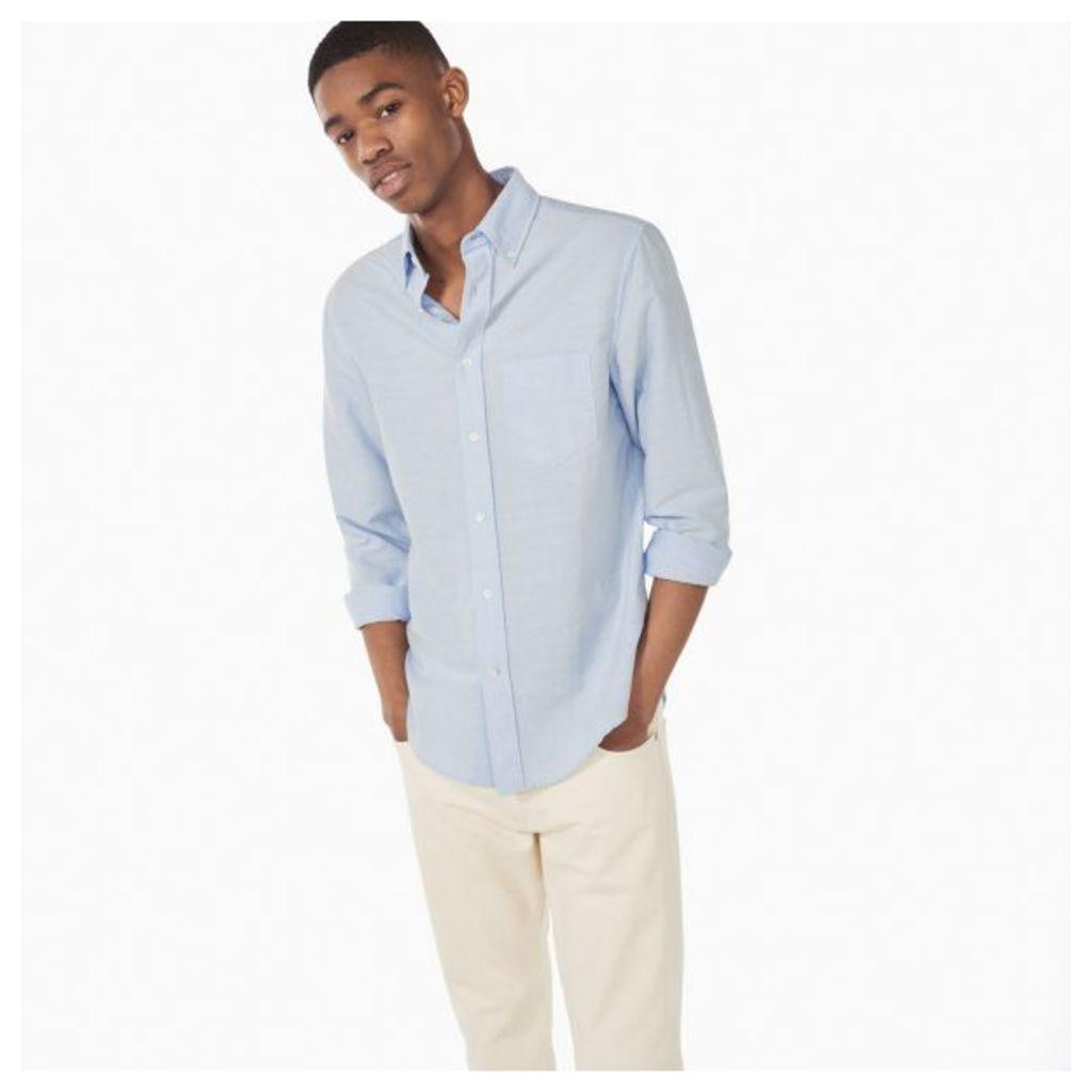 Kick-ass Slub Oxford Shirt - Cobalt Blue