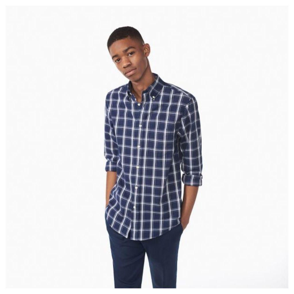 Dreamy Oxford Check Shirt - Evening Blue