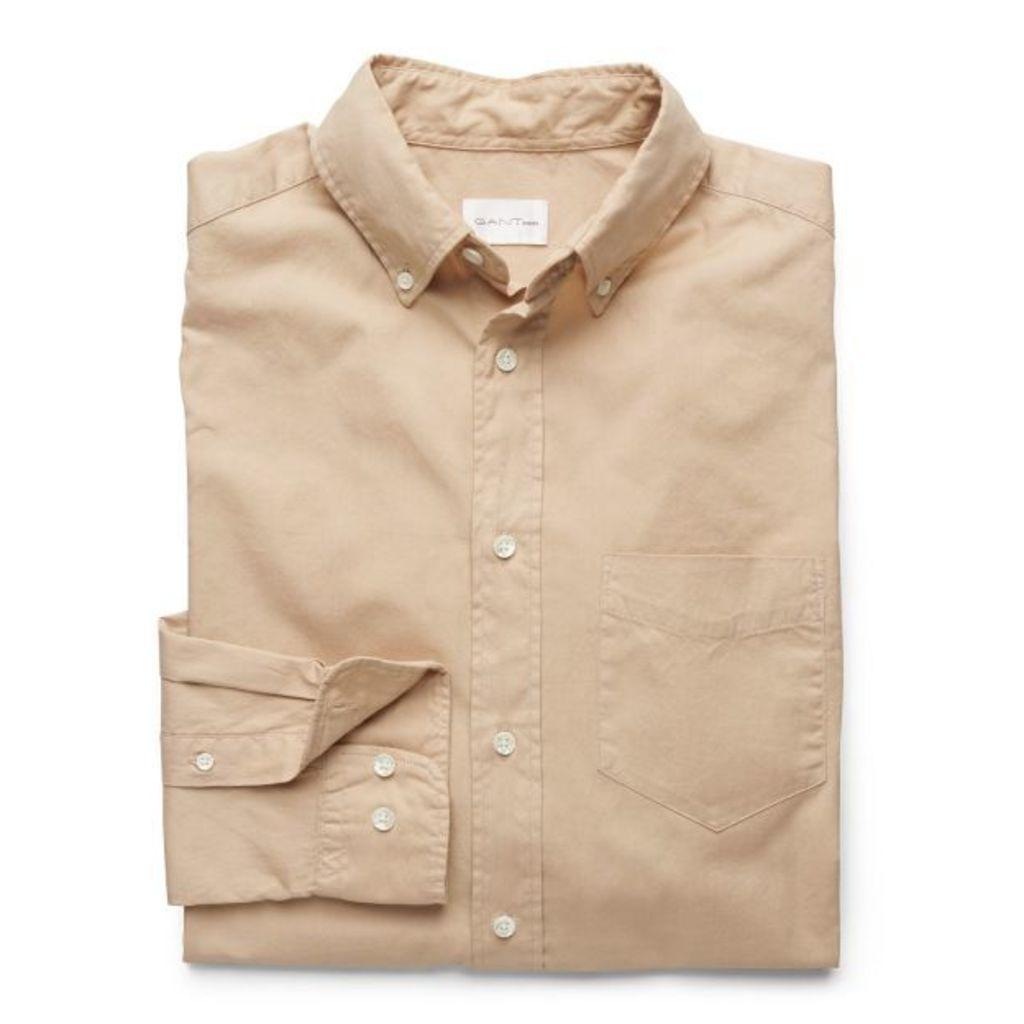 Dreamy Oxford Shirt - Dry Sand