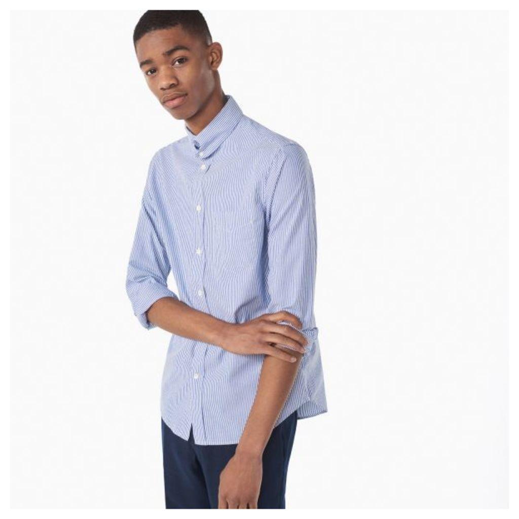 Dreamy Oxford Dylan Collar Banker Shirt - Crisp Blue