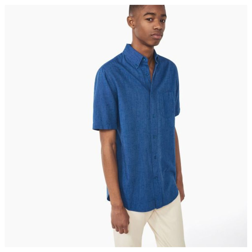 Solid Slub Shirt - Cloudy Blue