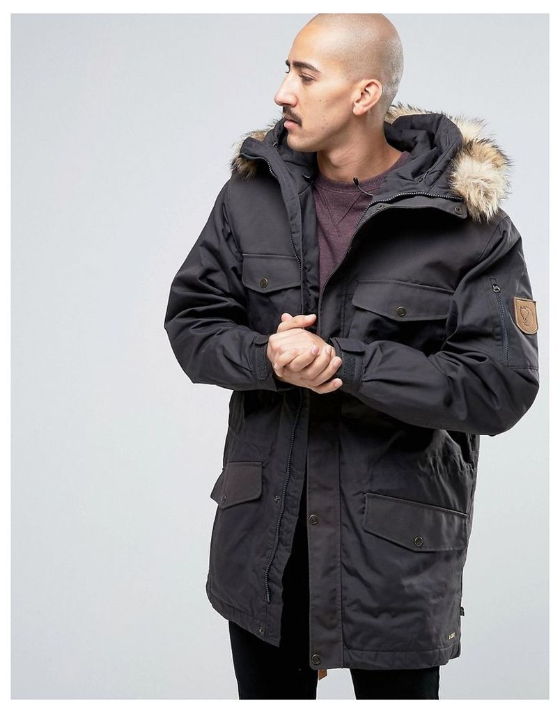 Fjallraven Singi Winter Jacket In Grey - Dark grey