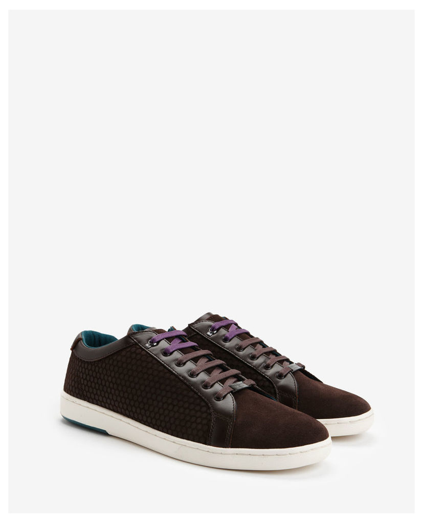 Ted Baker Suede trainers Brown