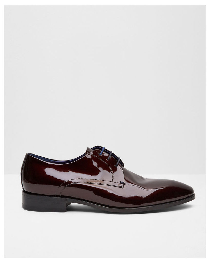 Ted Baker Patent leather derby brogues Red Patent
