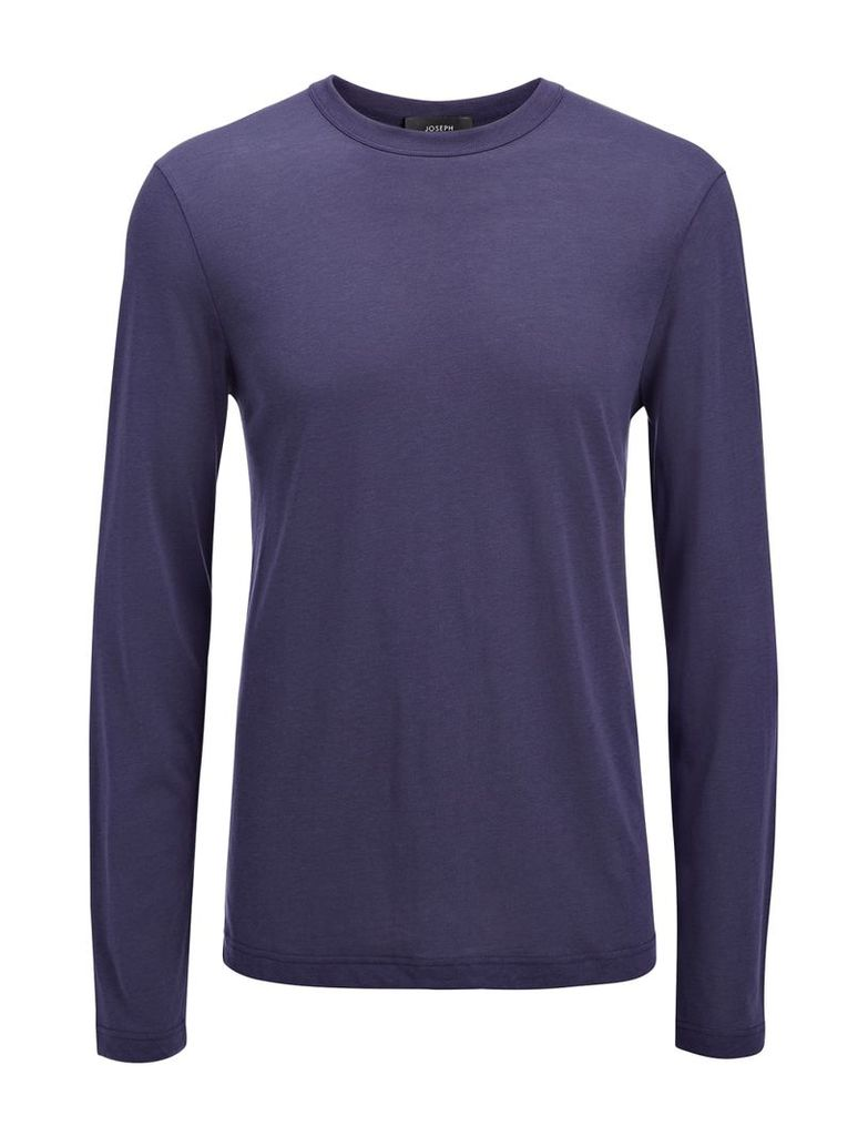 Lyocell Jersey Top in Marine