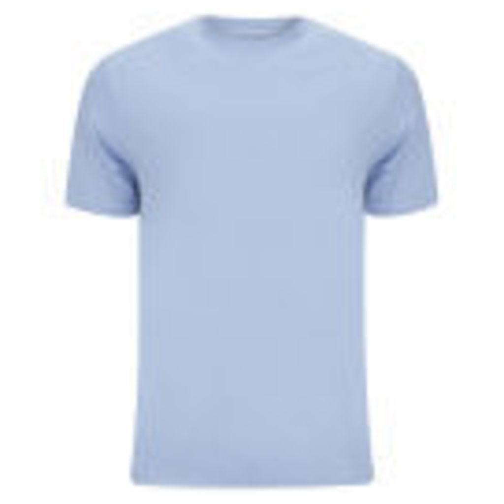 Derek Rose Men's Basel 1 French T-Shirt - Blue - XXL