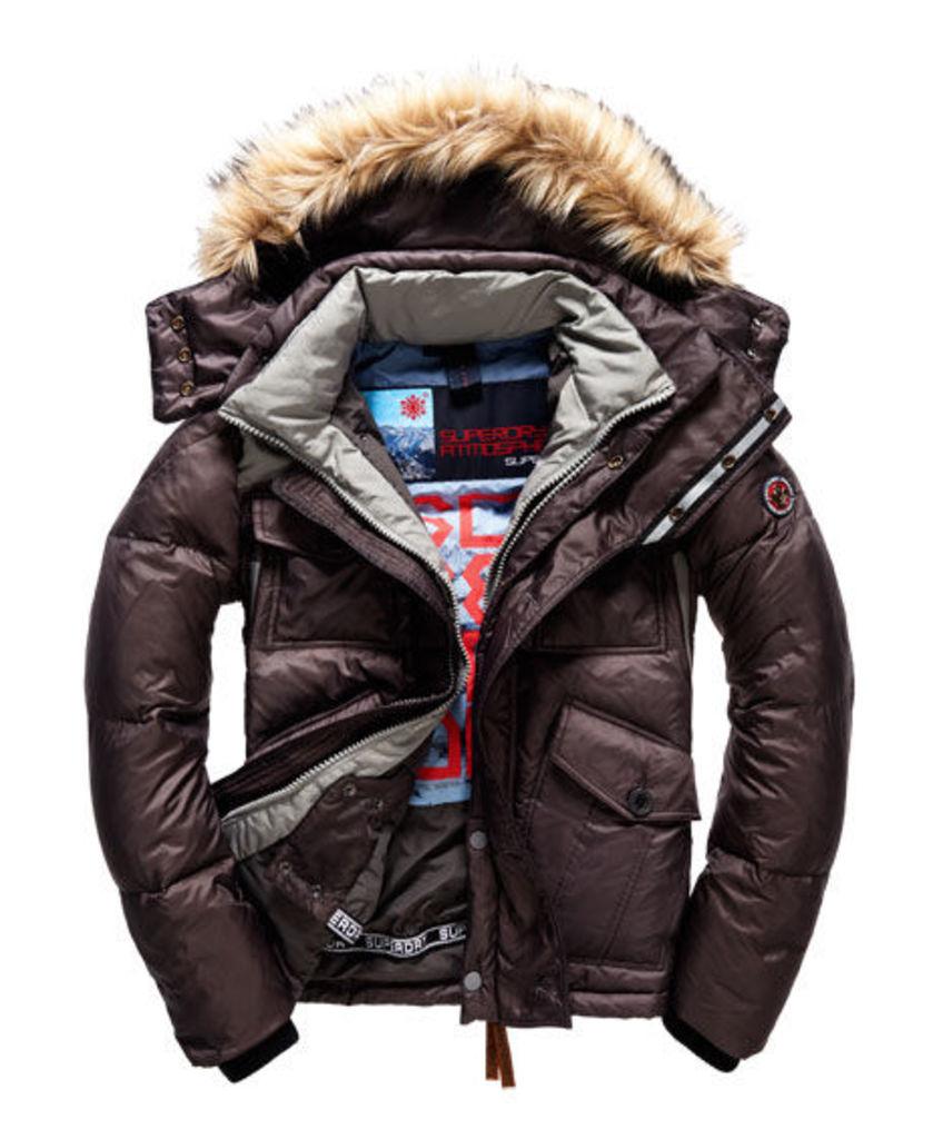 Superdry Atmospherix Military Down Hooded Jacket